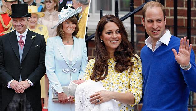 Noch mehr Ärger mit den Middletons! (Bild: AFP, AP)