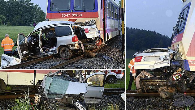 Zugunglück: Unfalllenker besaß keinen Führerschein (Bild: APA/PAUL PLUTSCH)