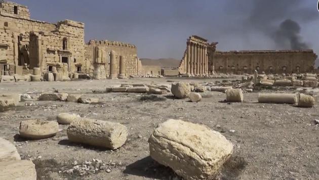 IS in Mossul und Palmyra massiv unter Druck (Bild: AP)