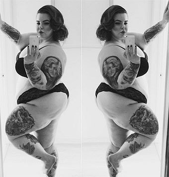 Tess Holliday (Bild: instagram.com/tessholliday)