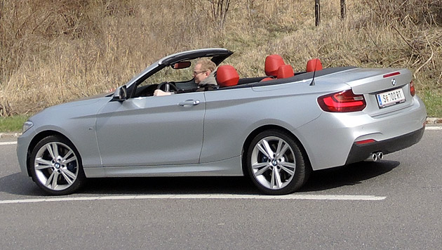 bmw 2er cabrio wie die wiesel ber wiesen dieseln veganes gasgeben auto. Black Bedroom Furniture Sets. Home Design Ideas