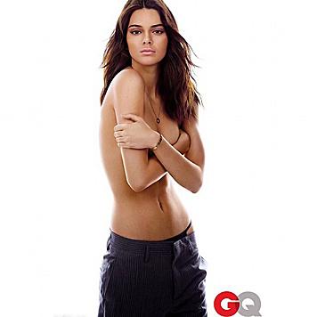 """Kendall Jenner oben ohne für das """"GQ"""" (Bild: Viennareport)"""