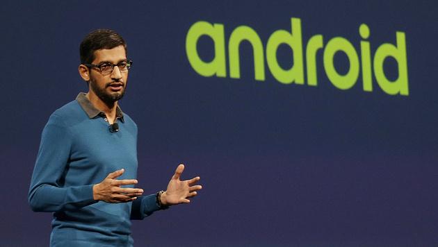 Google I/O: Neue smarte Foto-App und Bezahlservice (Bild: AP)