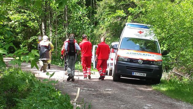 Deutscher Wanderer bei Felssturz in Tirol getötet (Bild: ZEITUNGSFOTO.AT/LIEBL DANIEL)