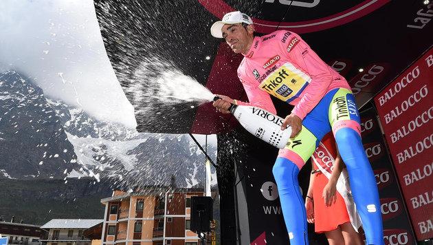 Giro: Doppelpack von Aru, Contador vor Triumph (Bild: AP)
