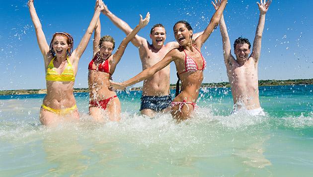 Die neue Woche bringt uns endlich Badewetter (Bild: thinkstockphotos.de)