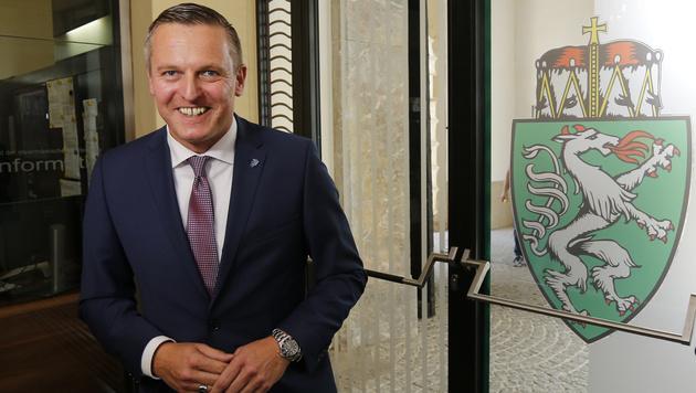 Der steirische FPÖ-Spitzenkandidat Mario Kunasek (Bild: APA/ERWIN SCHERIAU)