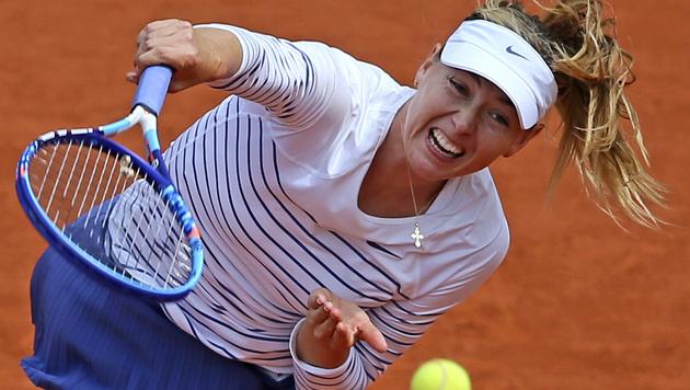 Feiert Scharapowa schon im Jänner ihr Comeback? (Bild: AP/David Vincent)