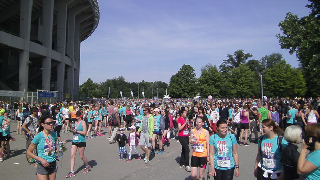 So genial war der 28. Frauenlauf im Wiener Prater (Bild: Stefanie Riegler)