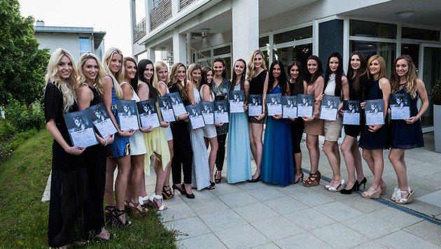 Alle Missen haben die Missen-Akademie geschafft. (Bild: Miss Austria Corporation)