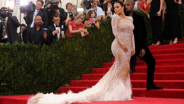 Kim Kardashian hat die Pose perfektioniert. (Bild: Charles Sykes/Invision/AP)