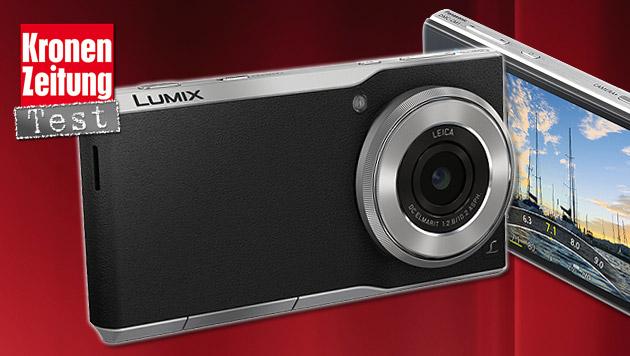 Halb Kamera, halb Smartphone: Lumix CM1 im Test (Bild: thinkstockphotos.de, Panasonic)