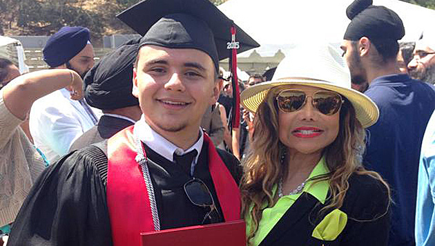 Jackson-Sohn Prince Michael hat sein Highschool-Diplom in der Tasche. (Bild: twitter.com/latoyajackson)