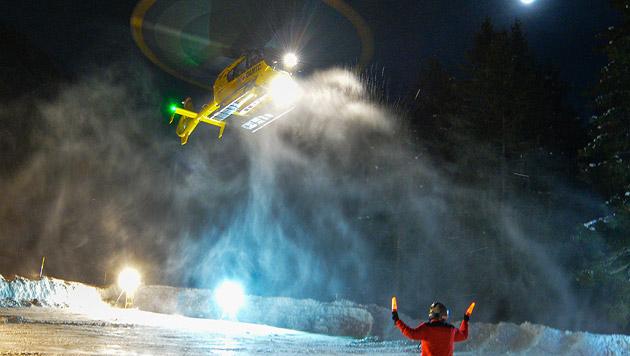 Deutscher Alpinist vor Erfrierungstod gerettet (Bild: APA/ZEITUNGSFOTO.AT (Symbolbild))