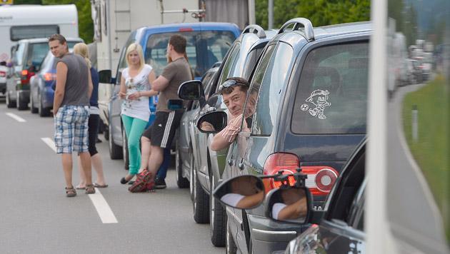 Bädersturm, Events und Reisewelle: Staus erwartet (Bild: APA/HARALD SCHNEIDER (Symbolbild))