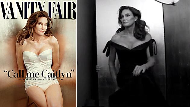 Bruce Jenner zeigt sich erstmals als Frau. (Bild: AP, instagram.com/vanityfair)