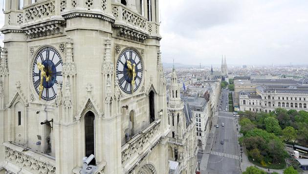 EU-Parlament: Fotos von Gebäuden bleiben erlaubt (Bild: APA/HERBERT NEUBAUER (Symbolbild))