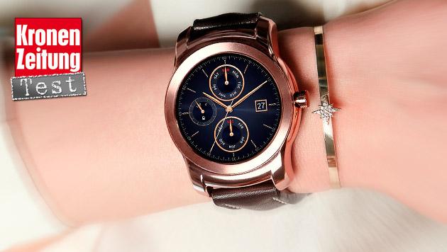 Schön, aber unnötig: LG Watch Urbane im Praxistest (Bild: Fotolia)