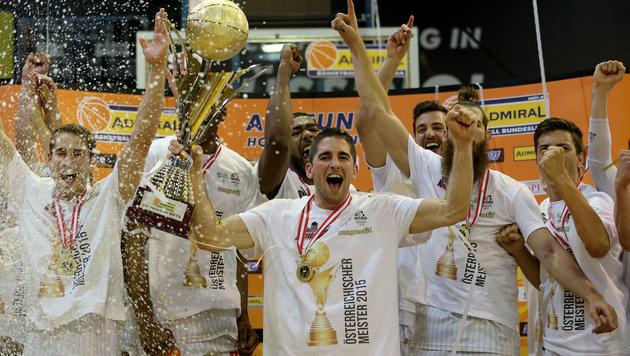 Güssing erobert erneut Basketball-Meistertitel (Bild: GEPA)