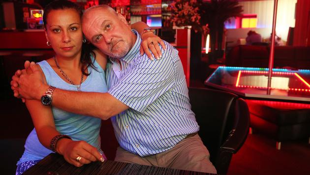 Liebe im Bordell: Prostituierte heiratet Million�r (Bild: Peter Tomschi)