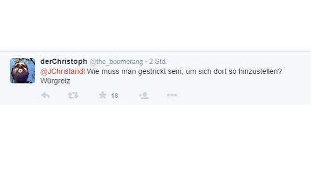 Riesenwirbel um FPÖ-Demo vor Wiener Asylquartier (Bild: twitter.com)