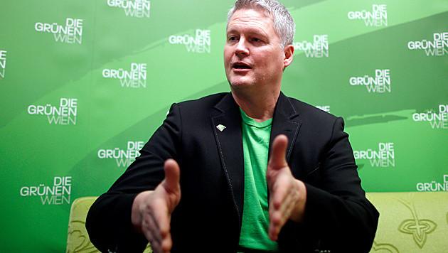 Grünen Klubchef David Ellensohn (Bild: APA/GEORG HOCHMUTH)