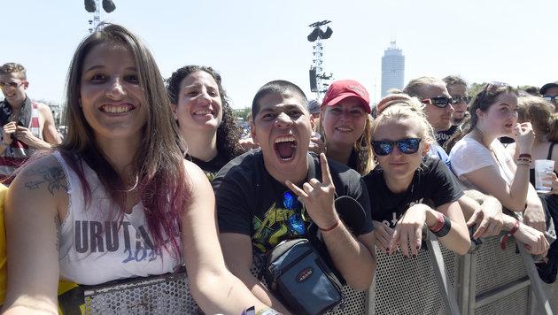 Rock in Vienna 2015 (Bild: APA/Herbert P. Oczeret)