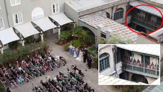 Diese Hochzeitsgesellschaft hat unheimliche Beobachter...