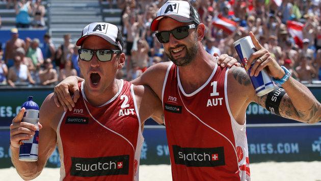 Doppler/Horst haben in USA Top-10-Platz sicher (Bild: GEPA)