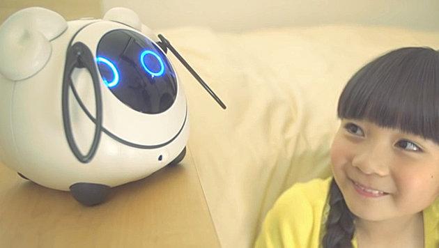 Neuer Roboter soll sich mit Menschen unterhalten (Bild: YouTube.com/TakaraTomy)