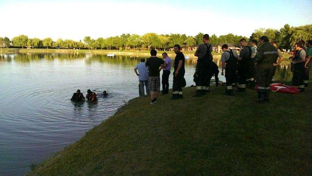 28-jähriger Ungar im Badesee Andau ertrunken (Bild: APA/FF ANDAU)