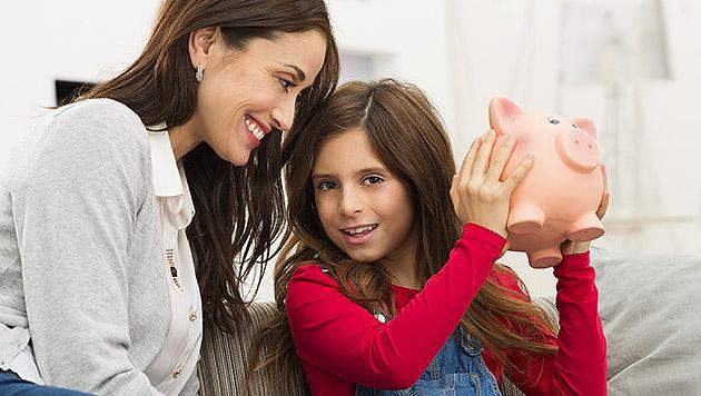 Die richtige Finanz-Erziehung für Ihr Kind (Bild: thinkstockphotos.de)