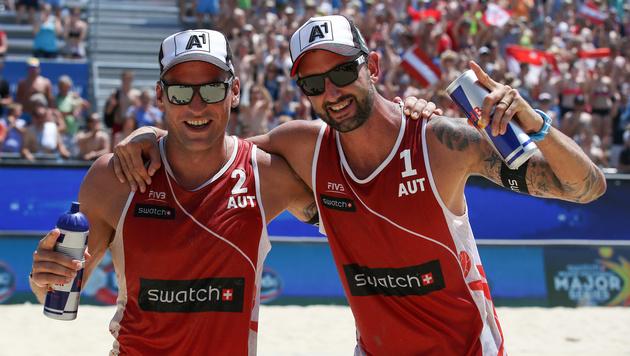 Doppler/Horst überstehen Gruppenphase in Rio (Bild: GEPA)