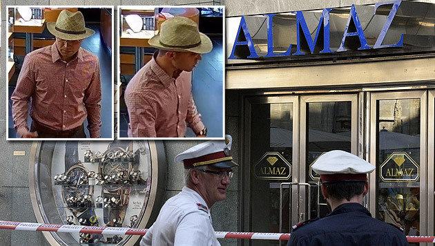 Die Polizei hat zwei Fotos eines der Tatverdächtigen veröffentlicht. (Bild: APA/HANS PUNZ, Polizei)