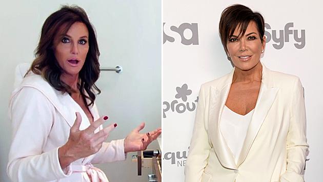 Kris Jenner ist rasend eifersüchtig auf Caitlyn Jenner. (Bild: AP, Evan Agostini/Invision/AP)