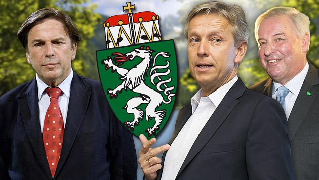 ÖVP-Klubchef denkt an Schwarz-Blau für Steiermark (Bild: APA/HANS KLAUS TECHT, APA/ERWIN SCHERIAU, thinkstockphotos.de)