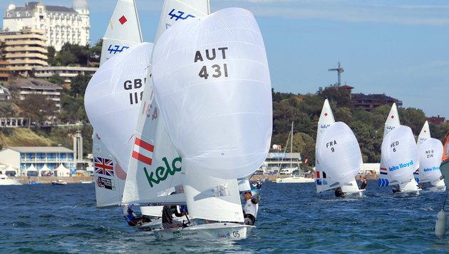 Vadlau/Ogar geben Segel-Comeback vor Weymouth (Bild: APA/EPA/LUIS TEJIDO)