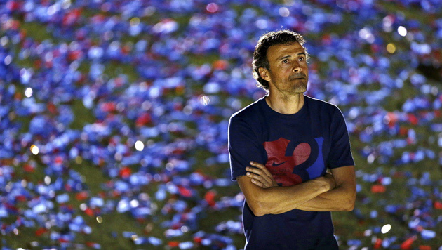 Barca-Coach Luis Enrique (Bild: APA/EPA/Alejandro GarcÌa)