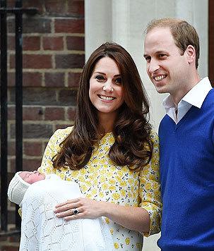 Kind Nummer zwei - Prinzessin Charlotte - soll William ganz schön auf Trab halten. (Bild: EPA)