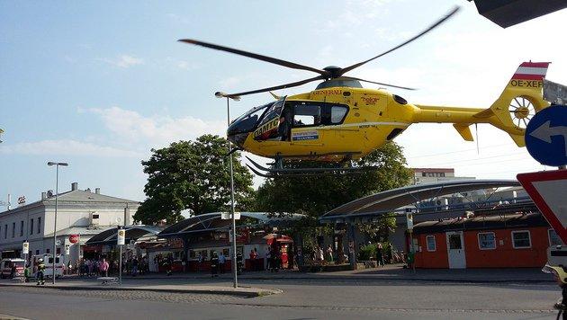 Ein Hubschrauber des ÖAMTC wurde angefordert. (Bild: Herbert Wimmer/Pressestelle BFK Mödling)