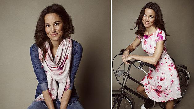 Pippa Middleton designt für den guten Zweck. (Bild: www.tabithawebb.co.uk/pippa/)