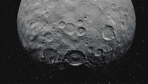 Zwergplanet Ceres ist salziger als bisher gedacht (Bild: NASA/Jet Propulsion Laboratory, DLR)