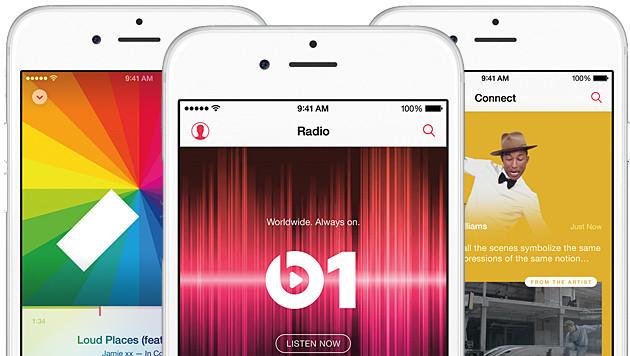 Apple Music: Wettbewerbshüter prüfen neuen Dienst (Bild: Apple, krone.at-Grafik)