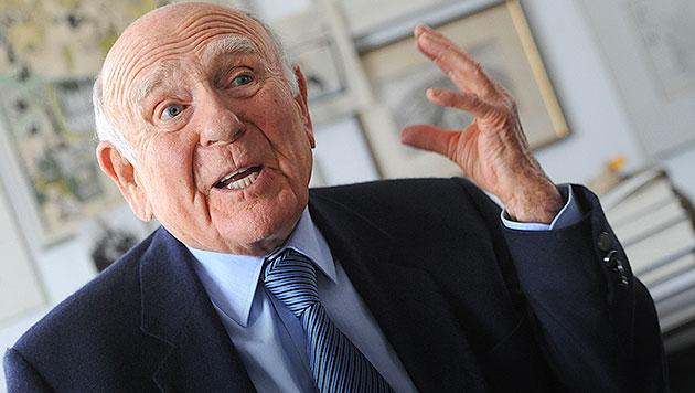 Ex-ORF-Generalintendant Gerd Bacher gestorben (Bild: APA/BARBARA GINDL)