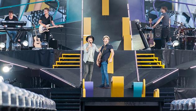 One Direction ließen Tausende Teens schmachten (Bild: Andreas Graf)