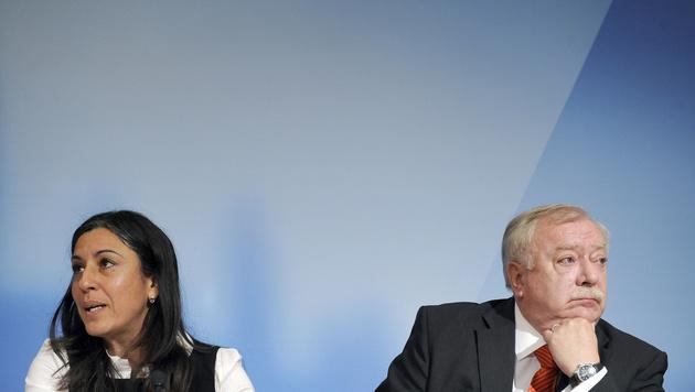 Rot-Grün-Ansage: Häupl lässt Vassilakou abblitzen (Bild: APA/HANS KLAUS TECHT)