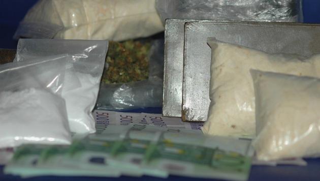 Bande verkaufte Drogen um 1,8 Millionen Euro (Bild: LPD Burgenland)