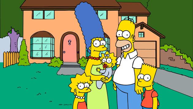 Familie Simpson (Bild: AP)