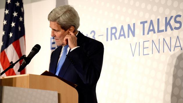 US-Außenminister John Kerry (Bild: APA/EPA/ROLAND SCHLAGER)