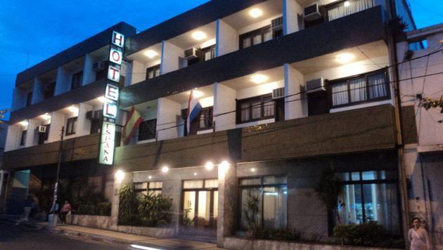 In diesem Hotel fanden Mitarbeiter den toten Brasilianer. (Bild: Hotel Espana)